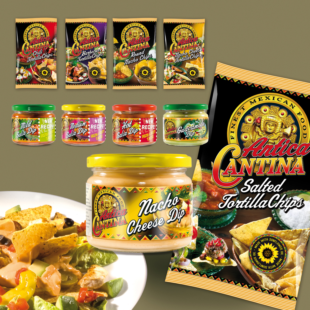 Tortilla Chips and Dips/sauces